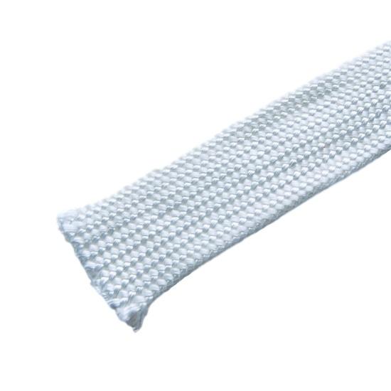 GUAINA ISOLANTE IGNIFUGA FIBRA DI VETRO temperatura 550° diametro 12 mm